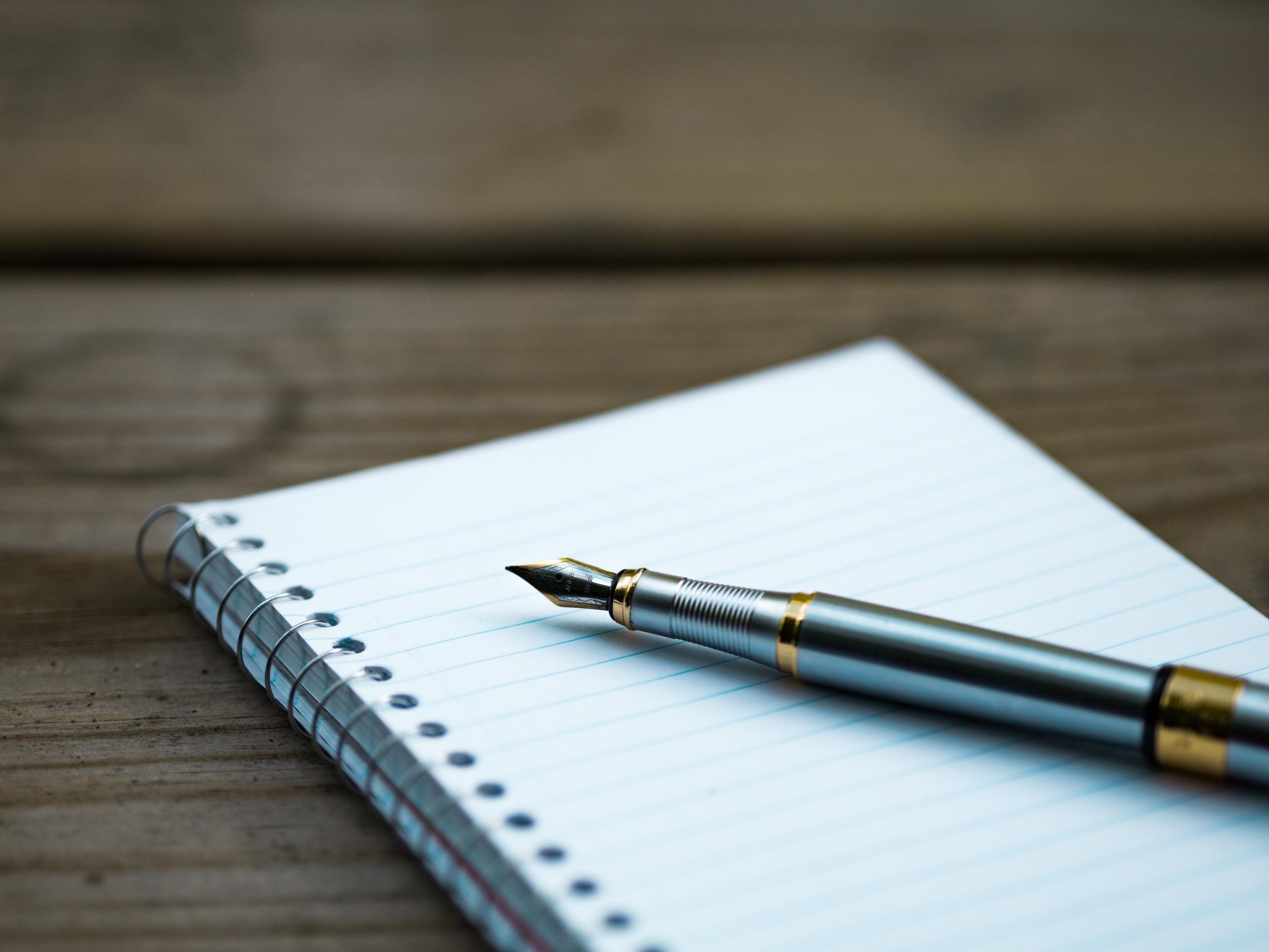 Der Spaß kommt beim Schreiben